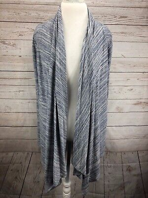 08a90cb139f Grayson Threads Cardigan Sweater Size XL Women s Gray Open Front Long Sleeve