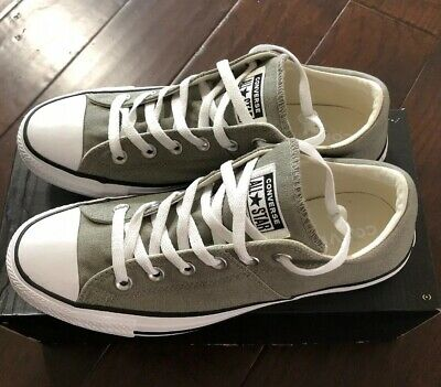 bc25ab84a48efd Womens Size 10 CONVERSE CTAS Dark Stucco White Black MADISON OX 562039C