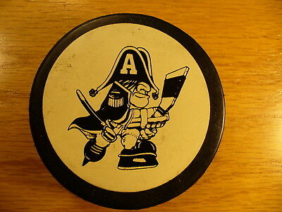 Ihl Milwaukee Admirals Large Old Team Logo Vintage Hockey Puck Collect Pucks Hockey-other