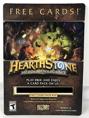 BLIZZARD HEARTHSTONE HEROES of Warcraft Very Rare Promo Pin