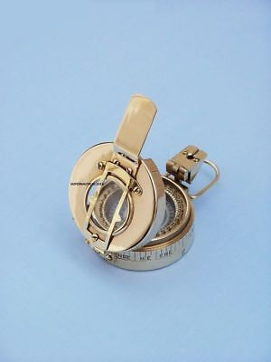 Nautical Solid Brass Engineers Compass, ANTIQUE COMPASS ,COMPASS Handmade Gift