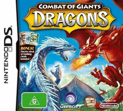 COMBAT OF THE GIANTS DRAGONS Nintendo DS GAME PAL