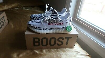 7e60550d9f5f3 Adidas Yeezy Boost 350 V2 ZEBRA CP9654 Men s size 12 STOCK X APPROVED  AUTHENTIC