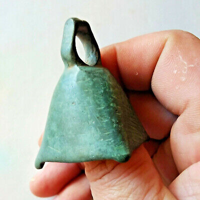 Ancient Celtic Bronze Ritual or Proto Money Bell Rare Artifact