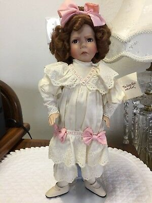 "Artist Dianna Effner Mother Goose""The Little Girl With A Curl""Doll New Vtg,Sale!"