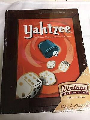 Yahtzee Vintage Game Collection Library Book