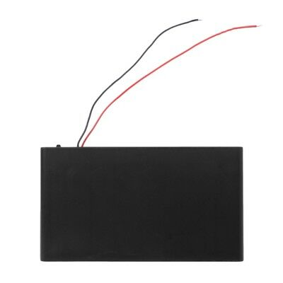 DIY Box Holder Case + Cover ON/OFF Switch Wire For 8x 1.5V AA Battery DC 12V Hot