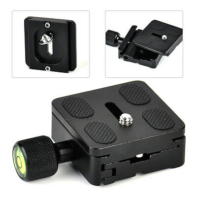 50mmx50mm Camera QR Quick Release Plate Clamp For Ball Head Monopod Tripod