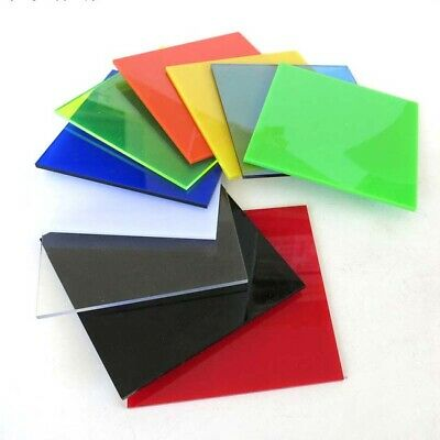 1pcs Color Acrylic Sheet Plexiglass Plate In Multiple Colors And Sizes 2.3mm