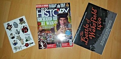 All About History MAGAZINE Issue # 070 2018 - Richard III At War + Free Gifts