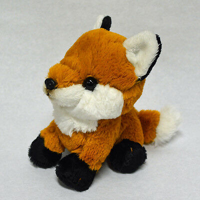 Red Fox Fluffy Plush cute & realistic