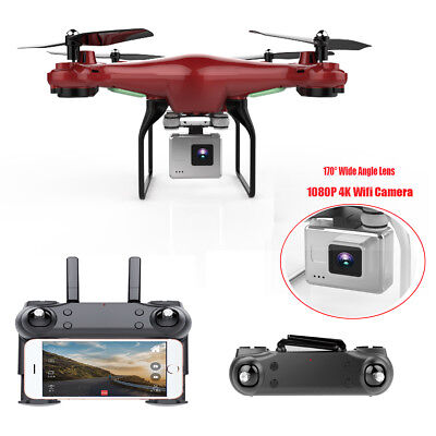 170 Wide Angle Lens HD 1080P Camera Quadcopter Drone WiFi FPV Helicopter Hovero