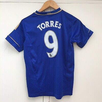 Chelsea Football Home Shirt Jersey Fernando Torres 9 , Youth 13-14