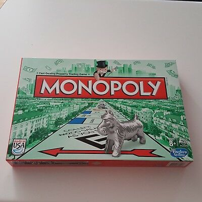 Monopoly Board Game 2013 Edition 2-6 Players Hasbro