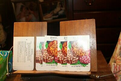 Lot of 16 1930-40s Litho Seed Packets New Bern NC Zinnia Peppermint Candy Cane