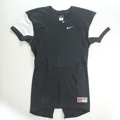 30406b01b Nike Football Swoosh T-Shirt Black/white Short Sleeve Men's Size Large $75  New