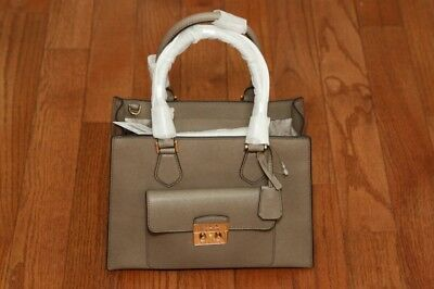 505bf36de82deb NWT Michael Kors $358 Bridgette Medium East West EW Tote Bag Purse Dark Dune
