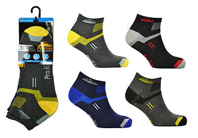 6&12 Pairs Mens Trainer Liners Sports Socks Size 6-11 By ProHike