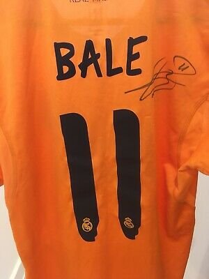 Gareth Bale Signed Match Issue Real Madrid Shirt With COA