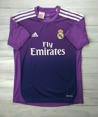 142be9a98dd Real Madrid kids jersey 11-12 years 2013 2014 goalkeeper shirt G81078 Adidas