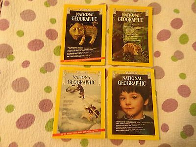Vintage National Geographic 1974 Bundle with two Inserts and all 12 Issues