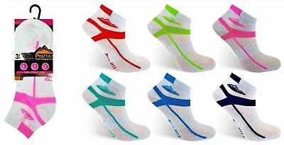 Women's Prohike Trainer Socks Sports Ankle Heel Toe Size 4-8  6 And 12  Pairs