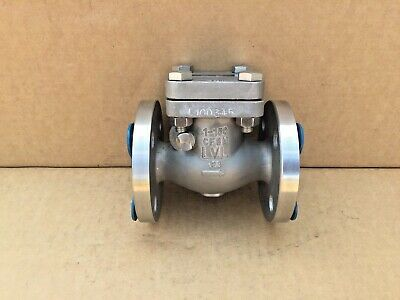 "Langley Cast Swing Check Valve CF8M 316 1"" Class 150"