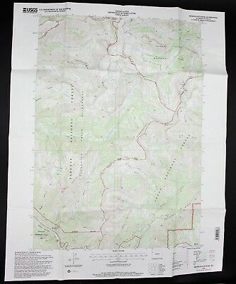 ANTIQUE VTG TOPOGRAPHIC Map Yellowstone US Geological Survey ...