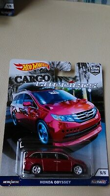 2018 Hot Wheels Car Culture Cargo Carriers Honda Odyssey