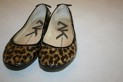6750a1e48efa Anne Klein Seana Women Leopard Print Black Brown Slip On Ballet Flats Shoes  6 M
