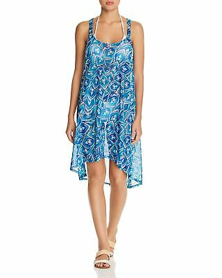 Gottex Swimsuit Cover Up Neo Tribe Collection High Neck Dress S M L NEW $288