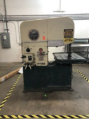 Doall Vertical Band Saw Model 2613-3 Preowned Nice