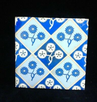 TILE 19th C. ANTIQUE TILE MINTON Made In England