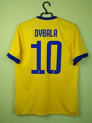 competitive price ac331 84761 JUVENTUS SHIRT #10 Dybala 2017/2018 Away Men's adidas football soccer size M