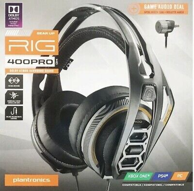 PLANTRONICS RIG 400 Dolby Atmos Universal Gaming Lightweight