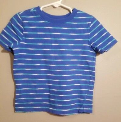 Old Navy Toddler Boys Blue Short Sleeve Striped T-Shirt Size 3T