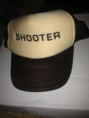 Shooter Hat, Hard To Find, Brand New - Rare - Collectible
