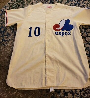 4ddd4393 Authentic 1969 Rusty Staub Mitchell Ness Authentic Large Montreal Expos  Jersey