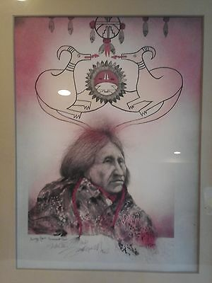 "Frank Howell Limited Edition Lithograph "" encarnacion pena ""AP1981 FINAL PRICE"