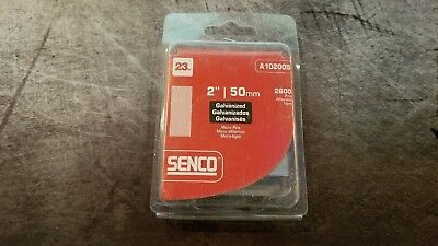 "Senco A102009 Galvanized Headless Micro Pins 23 Gauge 2""/50Mm 2600 Pins"