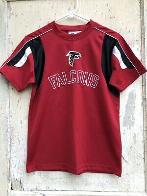 ed7081f4 ATLANTA FALCONS NFL Football Team Apparel Logo Silver Youth Medium ...