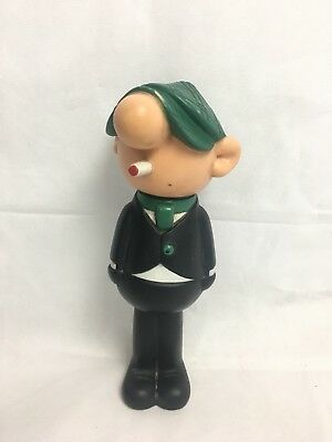 Avon Andy Capp Talc Container Blue Glazer Body Powder Daily Mirror 1969