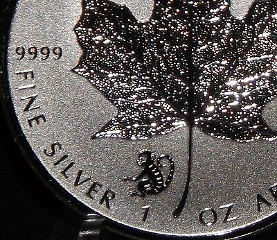 2016 LUNAR  Monkey Privy Silver Maple Leaf Canada   1 oz 9999 pure