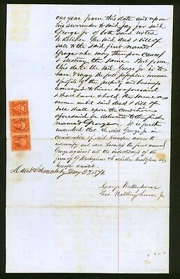 1871 George Westinghouse Sr sells ENTIRE company to George Jr for $25,000 signed