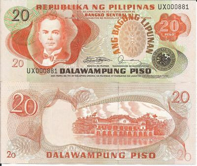 FILIPINAS BILLETE 20 PISO 1978 P 162c
