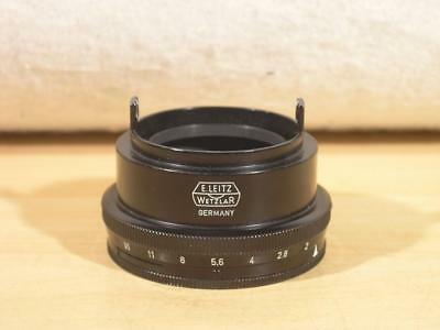 Uncommon  Leica 16686 VTROO Diaphragm Adjusting Ring For 50mm F2 Summicron-M