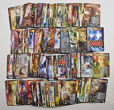 Over 200 Dr Who Battles in Time Trading Cards