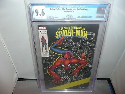 PETER PARKER Spectacular Siderman #1 Ebay Exclusive Cassaday