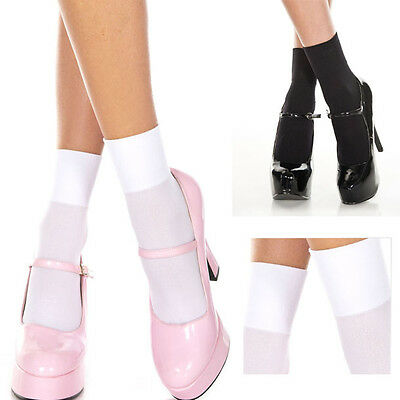 3 Colors Classic Sheer Mesh Stretchy Wide Top Short Ankle High Anklet Soft Socks
