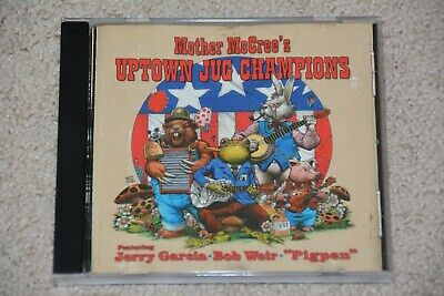 Grateful Dead Mother McCree Uptown Jug Champions CD Jerry Garcia Bob Weir Pigpen